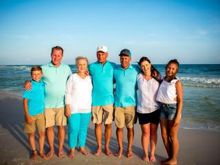 Laundry Family Portraits | Seacrest Beach