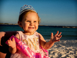 Baby Isabella's 1st Birthday | St. Andrew's State Park | PCB