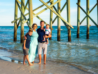 Cash Family Portraits | Panama City Beach, Fl.