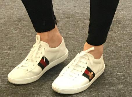 Janet loves: white sneakers
