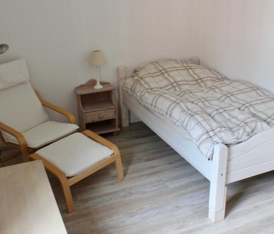 Zimmer 3 mit Einzelbett