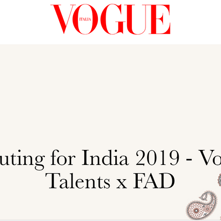 FAD x Vogue Italia unveil Finalists of Scouting For India 2019