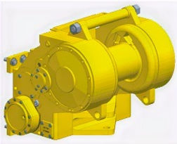 Paccard Winch Division-John Deere Carco Model H60-Kaizen Systems authorized distributor-Exporting all over the world.
