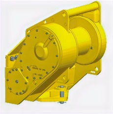 Paccard Winch Division-Carco Model H40-Kaizen Systems authorized distributor-Exporting all over the world.