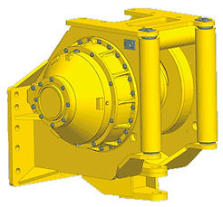 Paccard Winch Division-Komatsu-Carco Model H140A-Kaizen Systems authorized distributor-Exporting all over the world