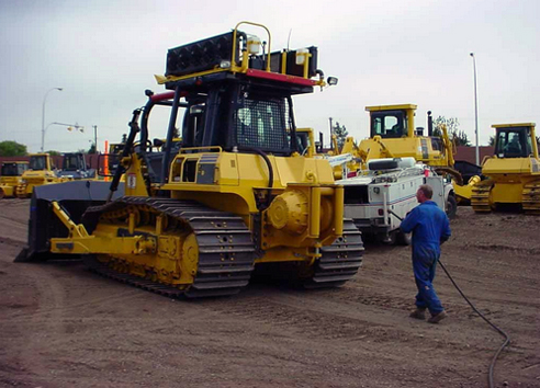 Paccard Winch Division Carco in the Field