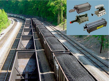 Rexroth  Pneumatic Controls for Rail Cars - Bosch Rexroth Pneumatics has been the leading pneumatic component manufacturer for automation of hopper cars since the 1960's - Kaizen Systems authorized distributor - Exporting all over the world