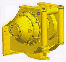 Paccard Winch Division-John Deere Carco Model H140A-Kaizen Systems authorized distributor-Exporting all over the world.