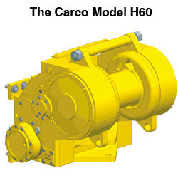 Paccard Winch Division-The Carco Model H60-Kaizen Systems authorized distributor-Exporting all over the world.