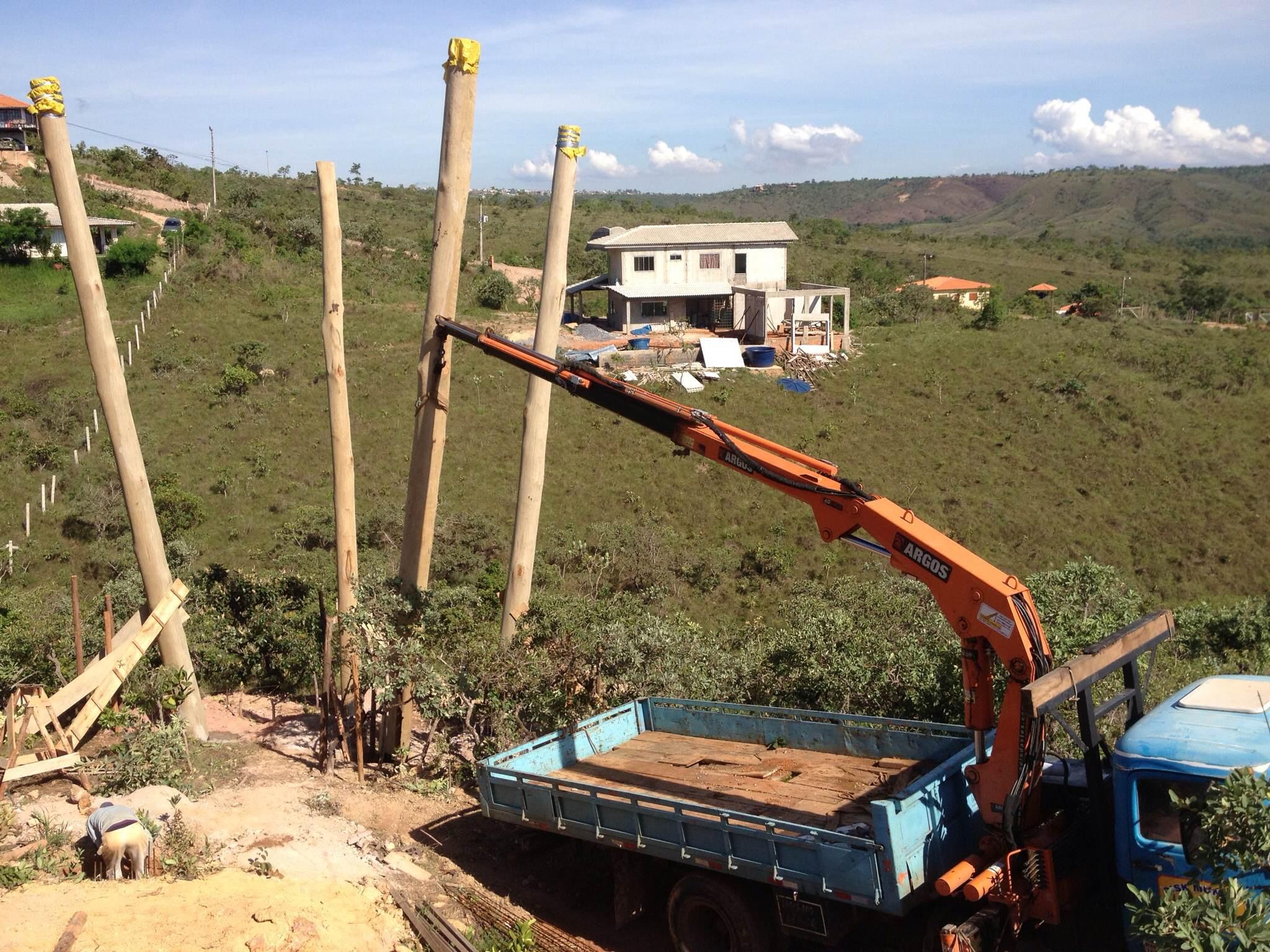 Foto da Construção