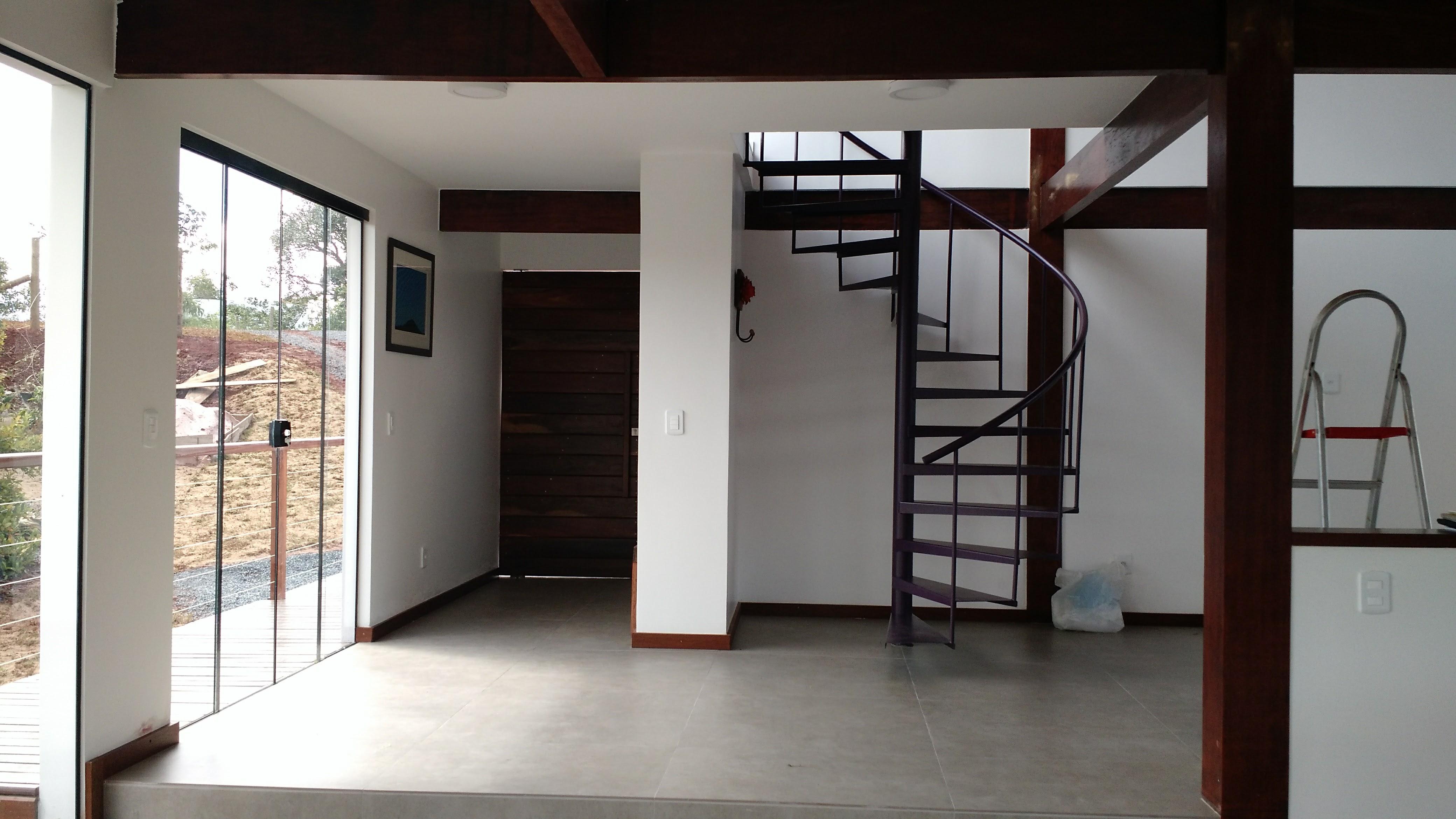 Hall de entrada e Escada