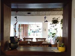 Vista interna da Cozinha
