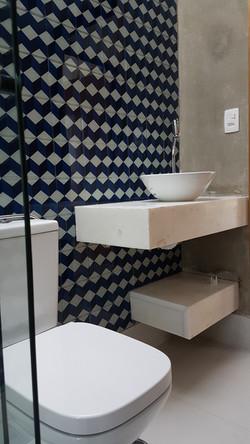 Banheiro Bancada e Pia