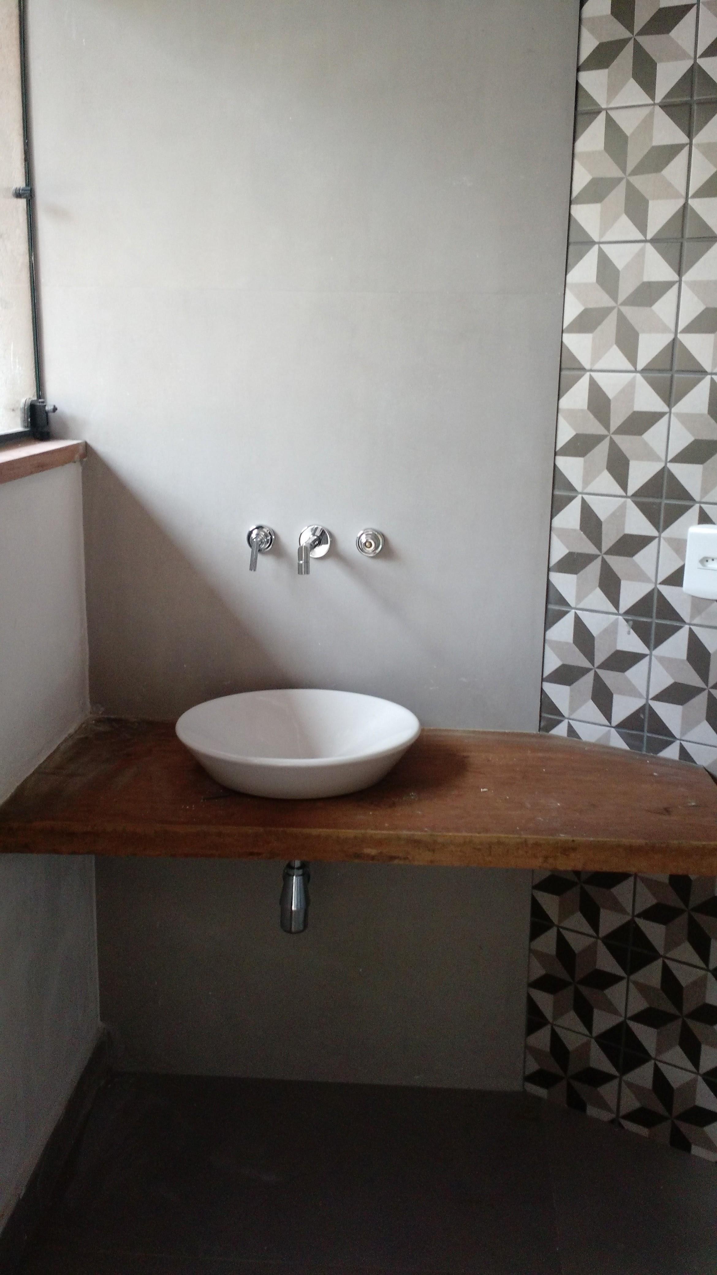 Bancada Simples Banheiro