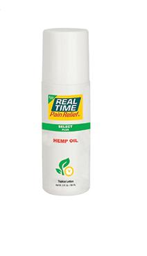 REAL TIME SELECT PLUS HEMP OIL