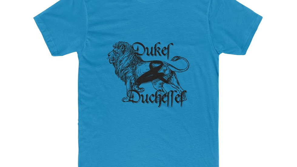Duke's & Duchesses Lion Men's Cotton Crew Tee