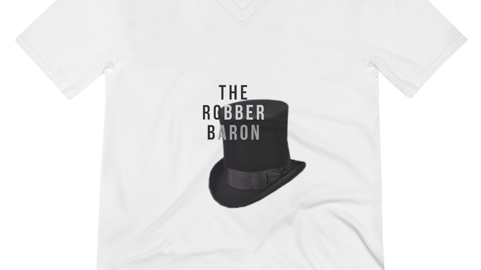The Robber Baron V-Neck Tee