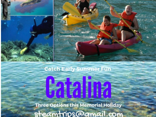 ** Sold Out ** Catalina Science Camp - Emerald Bay