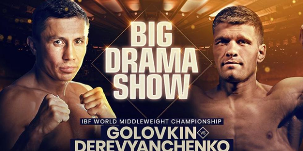 World Championship Boxing: Gennadiy 'GGG' Golovkin vs. Sergiy Derevyanchenko
