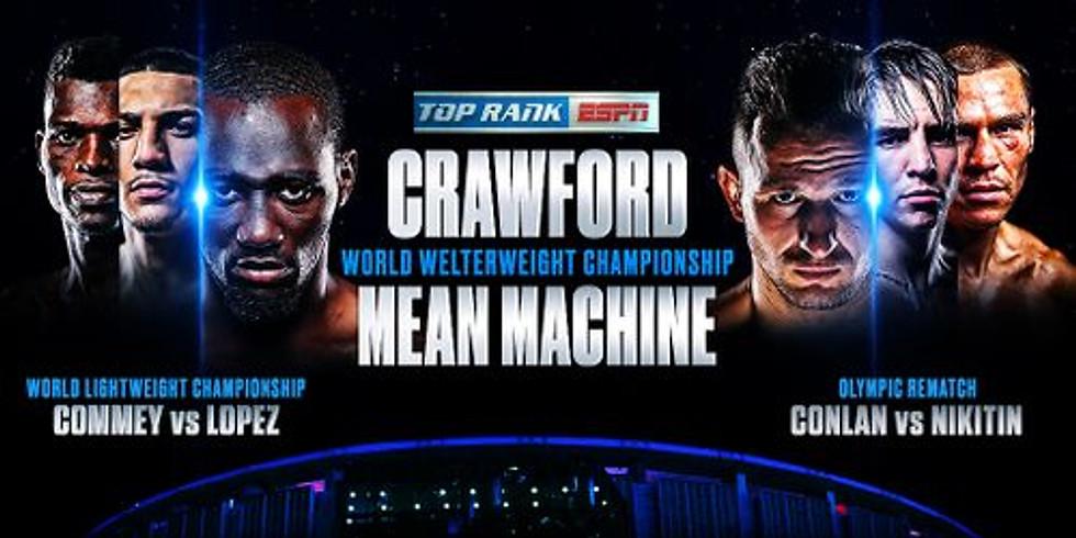 World Championship Boxing: Terence Crawford v Egidijus Kavaliauskas