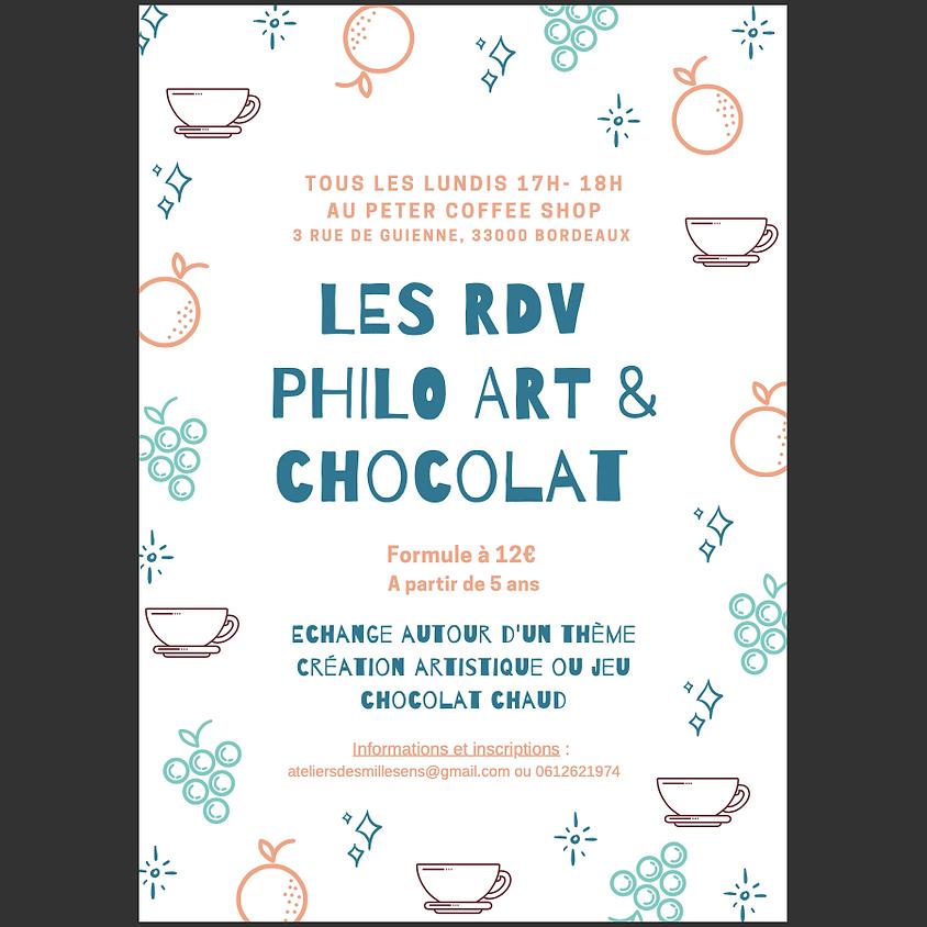 Les RDV Philo Art & Chocolat