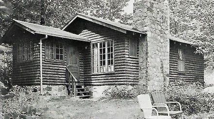 Vermilion resort cabin from te past