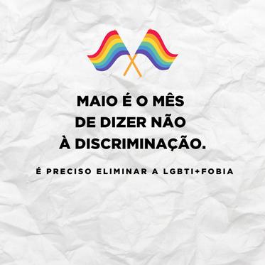 LGBTI+fobia é crime.