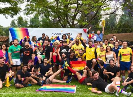 AccorHotels realiza amistoso de Rugby pela diversidade