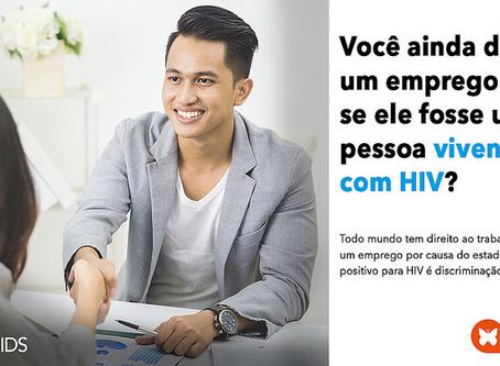 UNAIDS reforça o direito de todas as pessoas de viverem livres de discriminação