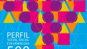 Perfil social, racial e de gênero das 500 maiores empresas do Brasil e suas ações afirmativas.