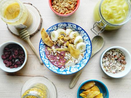 La Nicecream banane rhubarbe : une glace saine, vegan et gourmande !
