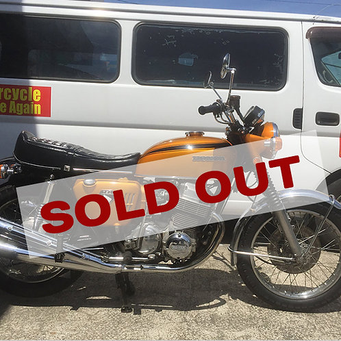 【SOLD OUT】国内45年登録 CB 750K0 金型 車検付き