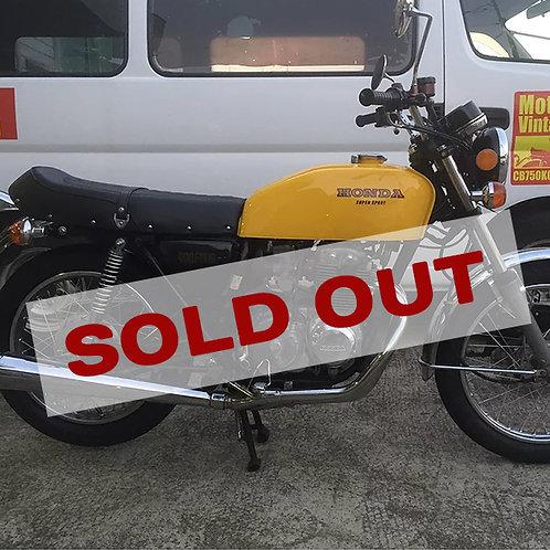 【SOLD OUT】HONDA CB400FOUR 黄色 国内398cc 初年度登録 昭和52年2月 ノンレス車