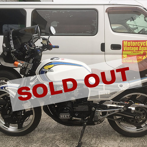 【SOLD OUT】HONDA CBX400F カスタム 美車