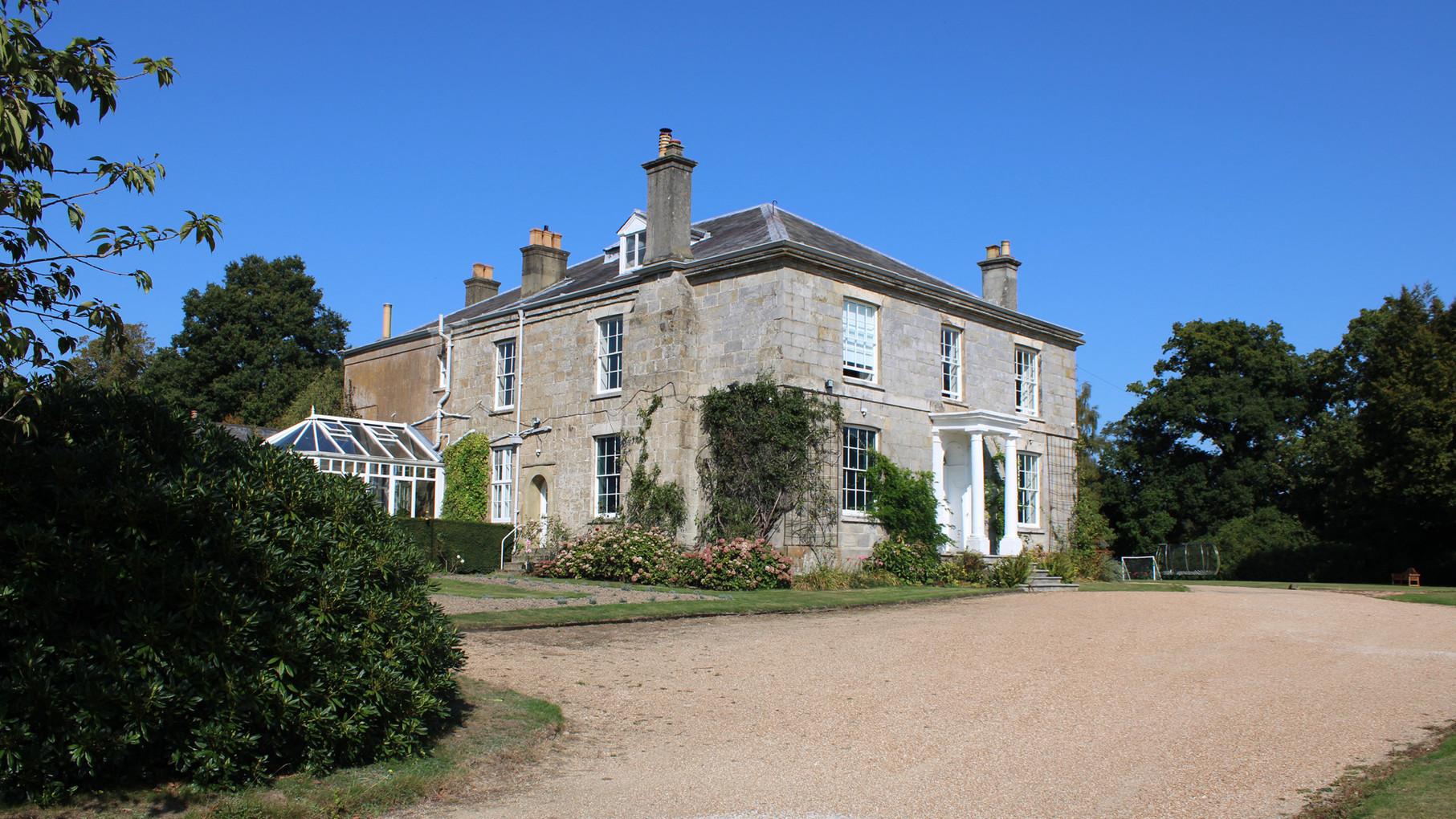 GEORGIAN MANOR HOUSE