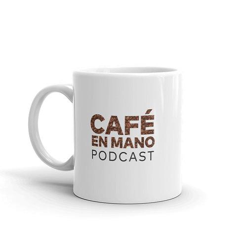 Café en Mano Podcast Mug