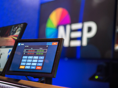 "Densitron's Intelligent Display System delivers ""highly flexible"" studio control for NEP"