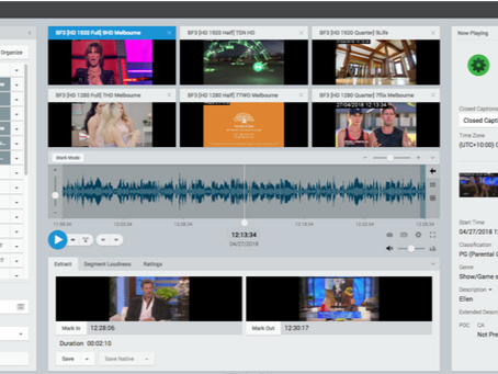 Mediaproxy To Show New Exception-Based Monitoring, Content Matching and AI Workflows at BroadcastAsi