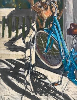 Bike and Shadows