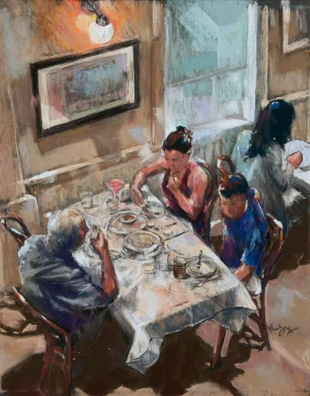 Dinner Out (SOLD)