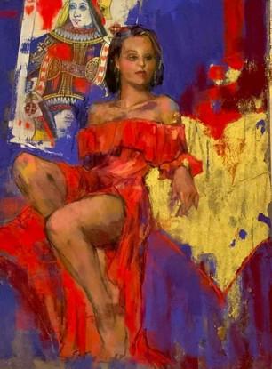 Queen of Hearts (SOLD)