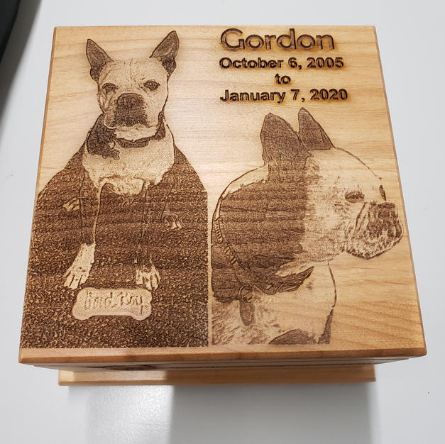 American Red Alder Pet Memorial Urn