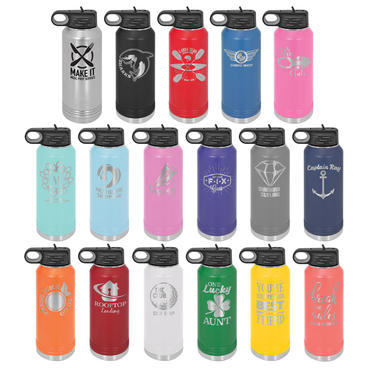 P16 - 32oz Insulated Water Bottle