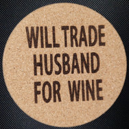 4in. Cork Coaster - Husband