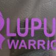Lupus Warrior - purple glitter
