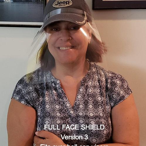 Ball Cap Face Shield