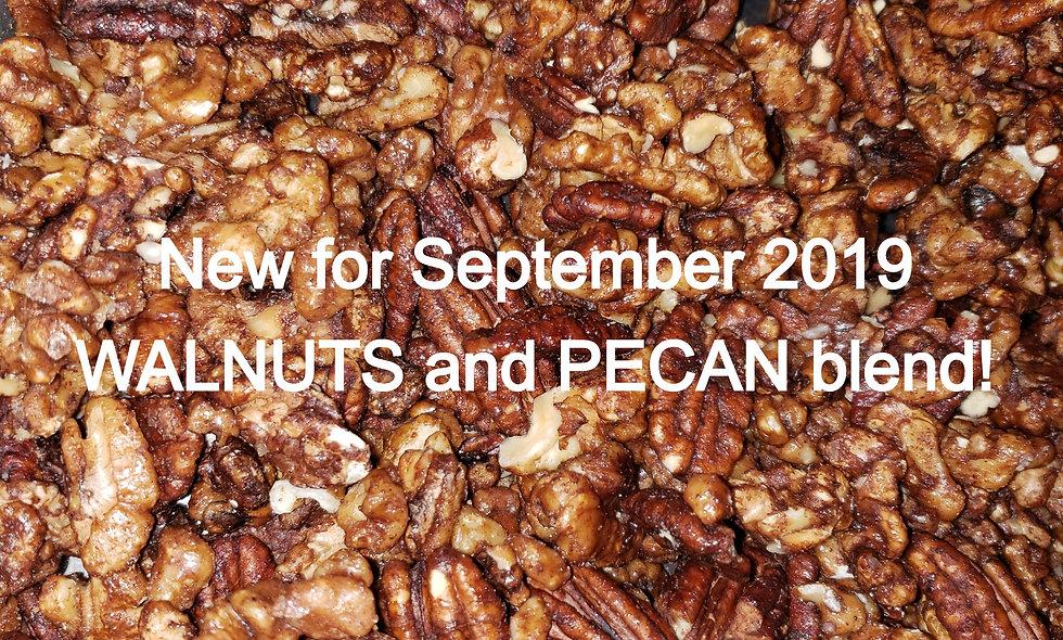 Gracie's Gone Nuts - Sugar Free Cinnamon & Spice Roasted Walnuts & Pecans