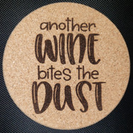 4in. Cork Coaster - Another Wine