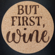 4in. Cork Coaster - 1st - Wine