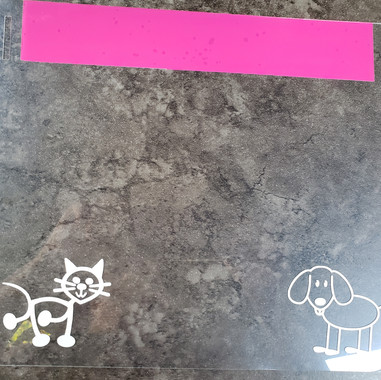 Puppies & Kittens - Dark Pink Band
